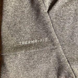 Nike Tops - Nike - Grey Hoodie/Therma-Fit
